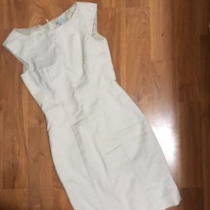 Tan Business Dress